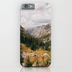 The View from Above 10,000 ft - Wyoming Wilderness Slim Case iPhone 6s