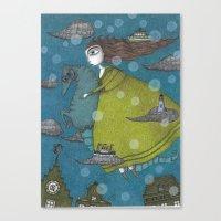 The Sea Voyage Canvas Print