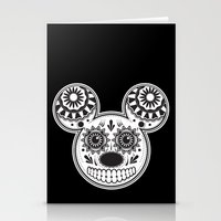This Ain't Disney Sugar Skull Stationery Cards