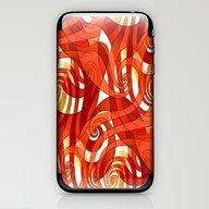 That's How I Whirl (oran… iPhone & iPod Skin