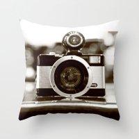 Capture Throw Pillow