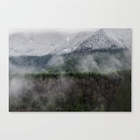 Calm of the Mountian Canvas Print