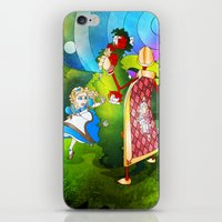 Paint The Roses Red iPhone & iPod Skin