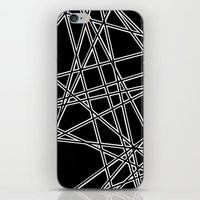 To The Edge Black #2 iPhone & iPod Skin