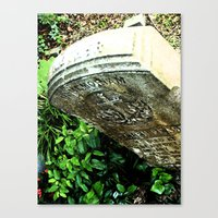 In Memorium Canvas Print