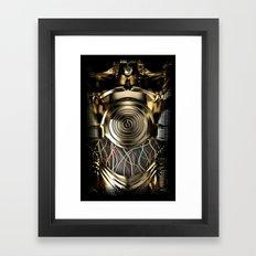 C-3PO Iphone protocol droid case. Framed Art Print