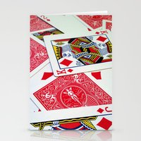 Deck Of Cards Stationery Cards