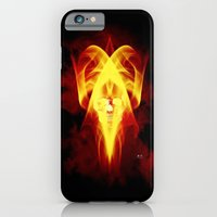 iPhone & iPod Case featuring Face Of Death by Mr D's Abstract Adventures