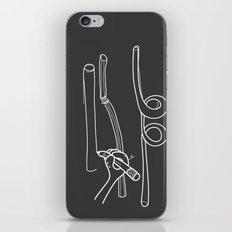 Drawing Straws iPhone & iPod Skin
