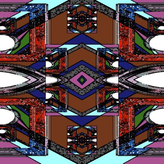 Internal Kaleidoscopic Daze- 22 Art Print