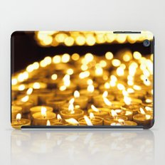 Prayer Candles in Church, Israel  iPad Case