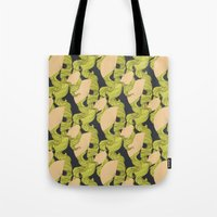 Trailing Hair And Fan //… Tote Bag