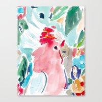 Mitchell the Cockatoo Canvas Print