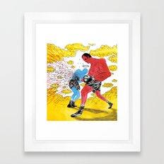 Boxers Framed Art Print