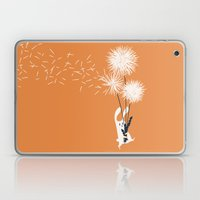 Bunny and Dandelion Bouquet Laptop & iPad Skin