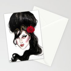 Amy W / quote  Stationery Cards