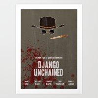Django Unchained Movie P… Art Print