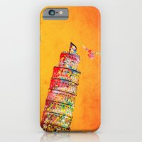 italy iPhone & iPod Cases featuring Italy  by mark ashkenazi