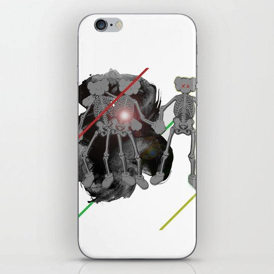 we got skels. iPhone & iPod Skin