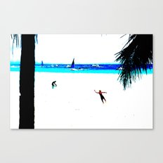 Borocay Beach Dive - Happy Place Canvas Print