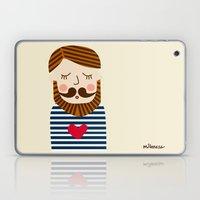 Bearded Sailor Lover Laptop & iPad Skin