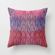 Leaves / Nr. 6 Throw Pillow