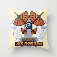 Avatar Nations Series - Air Nomads Throw Pillow