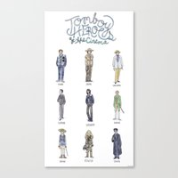 Tomboy Heroes Of The Cin… Canvas Print