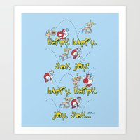 Happy Sing Along Art Print