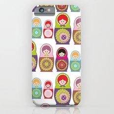 Russian dolls kawaii Slim Case iPhone 6s