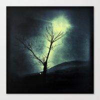Canvas Print featuring Dark Sun by eleanorrigby236