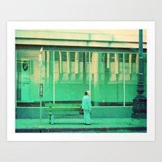 Go Metro. LA photograph Art Print