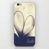 I Heart Books iPhone & iPod Skin