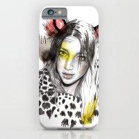iPhone & iPod Case featuring Bestia by Meegan Barnes