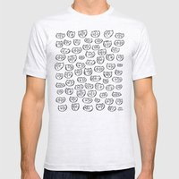 Fussy Cat Mens Fitted Tee Ash Grey SMALL
