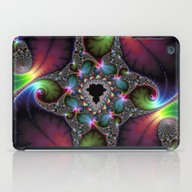 iPad Case featuring Glitter In Fractal Space by Herzensdinge