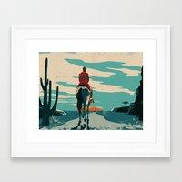 Michael Jordan ESPN Feat… Framed Art Print