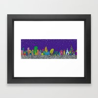 A Night On The Town Framed Art Print
