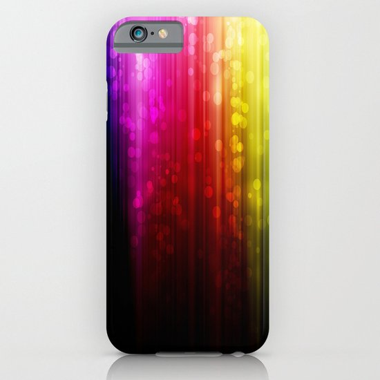 Rainbow Rain. iPhone & iPod Case
