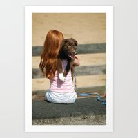 Pup 2 Art Print