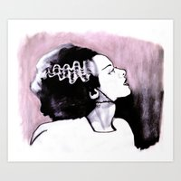 No Nonsense About Angels And Being Good Art Print
