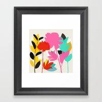 peony 1 Framed Art Print