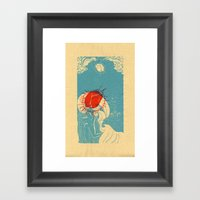 La Ola Framed Art Print