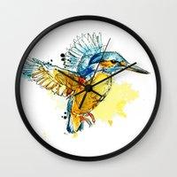 Kingfisher Wall Clock