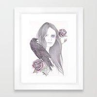 Silent Encounter Framed Art Print