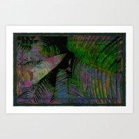Dark Tropics Art Print