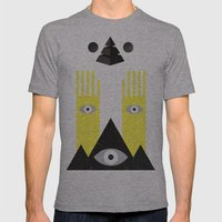PYRAMIDº Mens Fitted Tee Athletic Grey SMALL