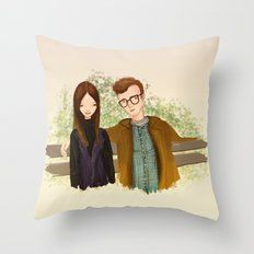 Annie Hall Throw Pillow