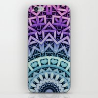 3D-Abstract-Digital-Patt… iPhone & iPod Skin