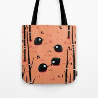 Black Birds In The Fores… Tote Bag